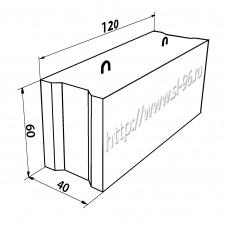 Фундаментные блоки (ФБС) 12-4-6