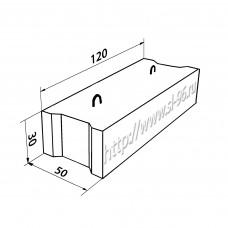 Фундаментные блоки (ФБС) 12-5-3