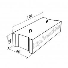 Фундаментные блоки (ФБС) 12-6-3