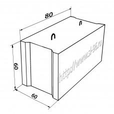 Фундаментные блоки (ФБС) 8-6-6