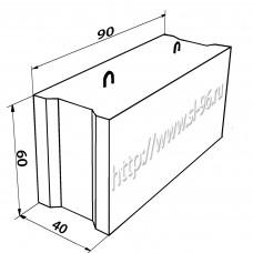 Фундаментные блоки (ФБС) 9-4-6