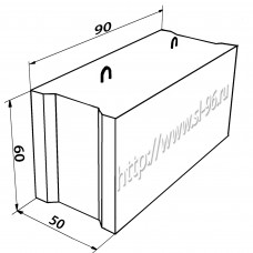 Фундаментные блоки (ФБС) 9-5-6