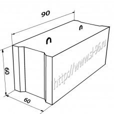 Фундаментные блоки (ФБС) 9-6-6