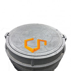 Люк полимер-песчаный 15 тн.