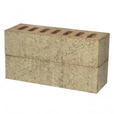 Кирпич облицовочный керамический ЛАТЕРРА Пшеница одинарный пустотелый MATTONE