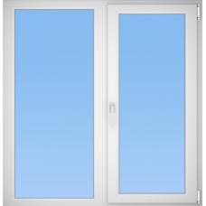Окно пластиковое KBE 1280*1320