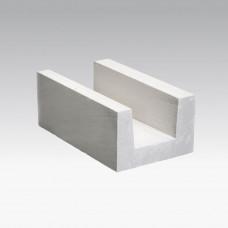 Газобетонный блок ПОРЕВИТ U-образный - ширина 200 мм (БПU-200)