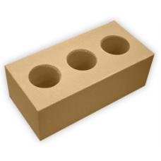 Кирпич лицевой утолщенный пустотелый силикатный Желтый 1.4% M 125-300 СИМАТ