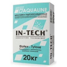 Шпаклевка гидроизоляционная цементная IN-TECK AQUALINE
