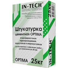 Штукатурка цементная IN-TECK OPTIMA