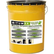 Мастика битумно-эмульсионная на водной основе холодного применения